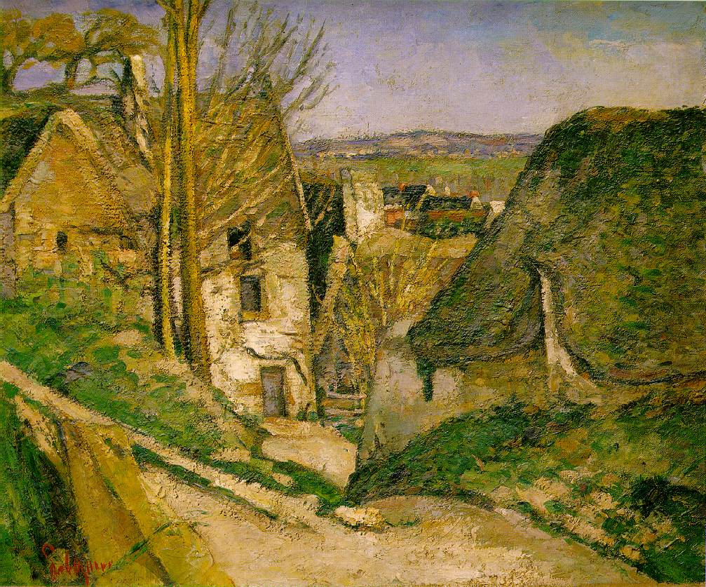 Paul Cézanne - La Maison du pendu
